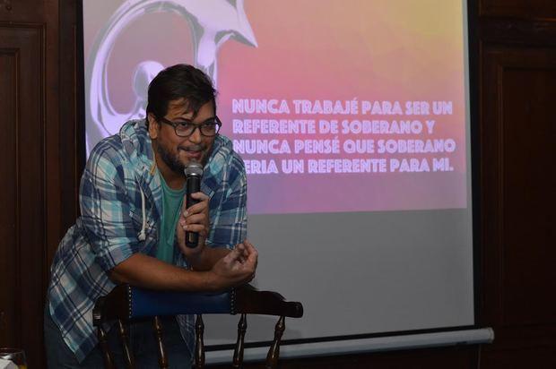El laureado productor de espectáculos, René Brea, se declaró un defensor de la dominicanidad.
