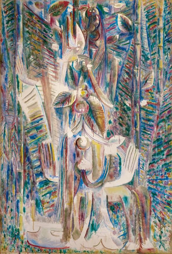 Wilfredo Lam. Omi Obini, 1943.