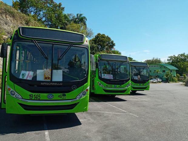 Autobuses OMSA circularán hasta las 7 de la noche desde este domingo