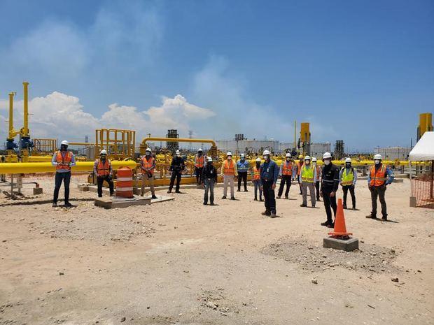 ENADOM concluye con éxito interconexión de las generadoras Quisqueya I y II a gas natural