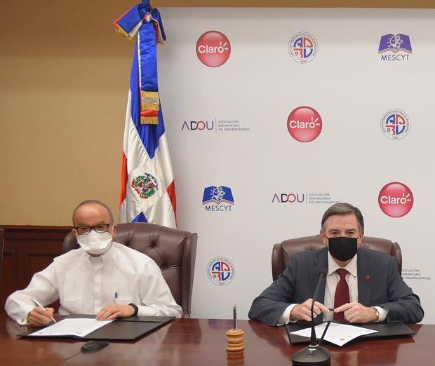 PUCMM, UNAPEC e ISFODOSU se suman al acuerdo de Claro con Universidades del país