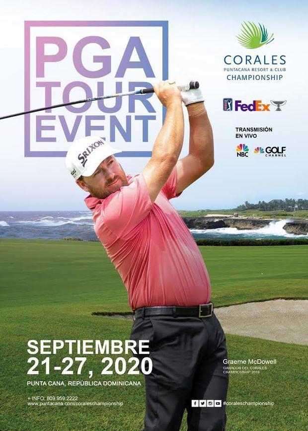 Afiche Oficial PGA TOUR.