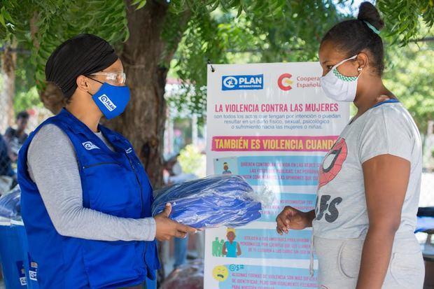 Plan International RD entrega donaciones financiadas por España para paliar los efectos del coronavirus