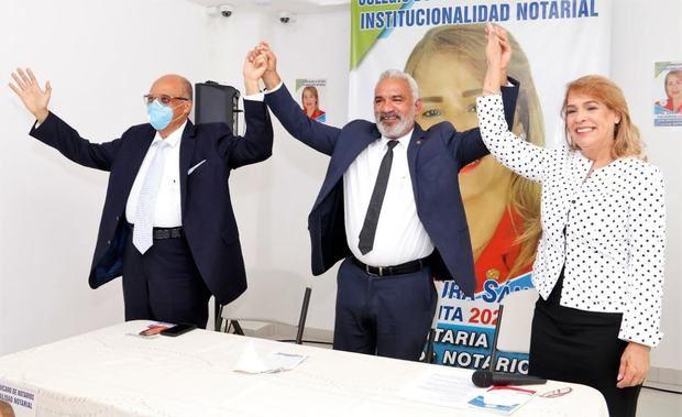 Movimiento proclama a Laura Sánchez como candidata a la presidencia del Colegio Notario