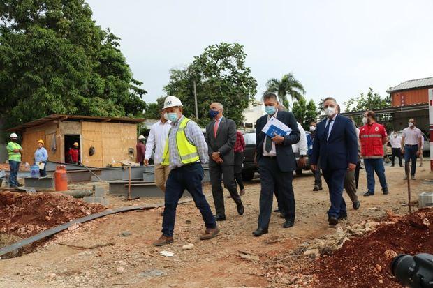 Inician construcción del Almacén Humanitario en la Cruz Roja Dominicana