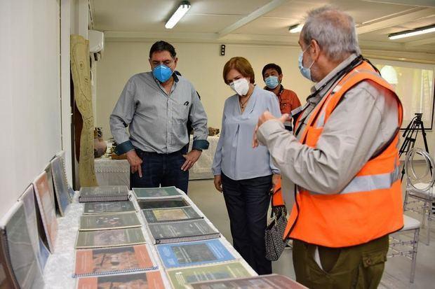 Ministra de Cultura ratifica convenio para construcción de museo arqueológico Barrick Pueblo Viejo