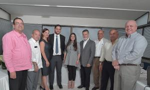Rubén Cabrera, Claudio Liranzo, Zoila La Paz, Yavet Guzmán, Maritza Parra, Tomas Alba, Freddy Amin Nuñez, Juan Antonio Álvarez y Martín Franco