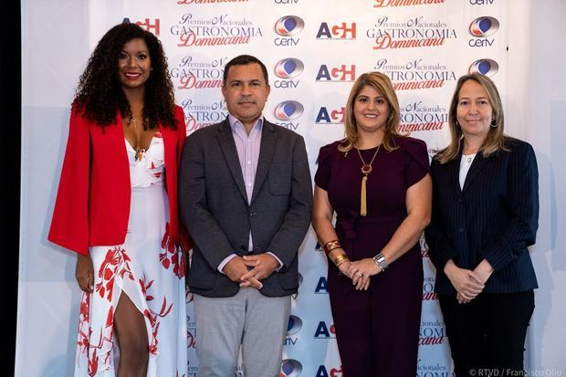 Premios Nacionales a la Gastronomía Dominicana serán el 18 de julio por canal 4RD
