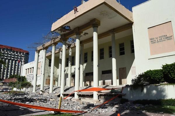 Ministerio de Cultura inicia trabajos de restauración de su sede en la avenida George Washington