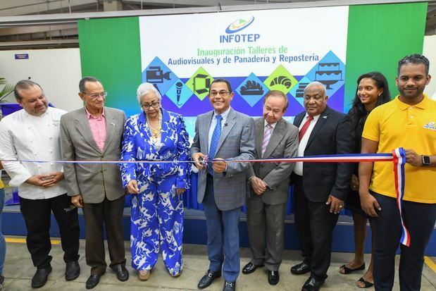 Infotep invierte RD$58.3 millones en ampliación y modernización de talleres