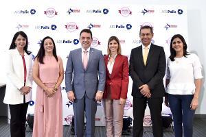 Mirla Estevez, Doris Alburquerque, Andrés Mejía, Ana María Ramos, Jaime Herrera y Gabriela Castillo.