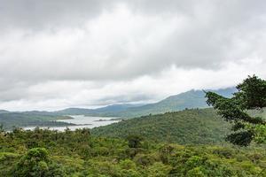 Fotografía cedida por Smithsonian de Panamá de los bosques nubosos de la Reserva Hidrológica de Fortuna que albergan casi tantas especies de árboles como todo Estados Unidos.