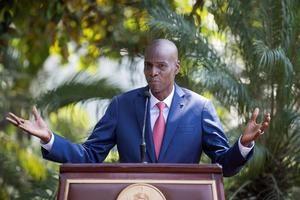 En la imagen el presidente haitiano Jovenel Moise.