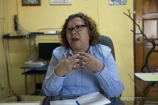 La activista nicaragüense por los derechos de la mujer Sandra Ramos fue registrada este miércoles, durante una entrevista con Efe, en Managua, Nicaragua.