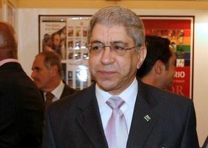 Fotografía de archivo del 5 de octubre de 2008, del director de 'Diario Libre' de la República Dominicana, Adriano Miguel Tejada, en la 64ª Asamblea General de la Sociedad Interamericana de Prensa (SIP) que se celebró en Madrid.