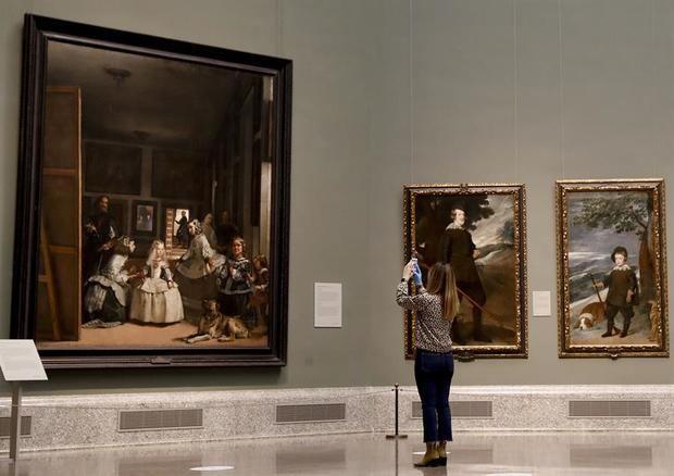 La obra 'Las Meninas' de Velázquez.