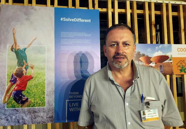 El director de WWF de Ecuador, Tarsicio Granizo.