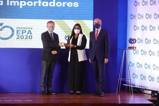 Dalisa Heredia, de Intellisys D Corp - Premios EPA 2020.