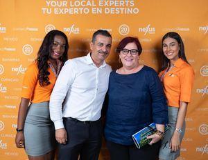 Yoana Medina, Carlos Jiménez Ruiz, Michele Rosset y Melisa Hofen.