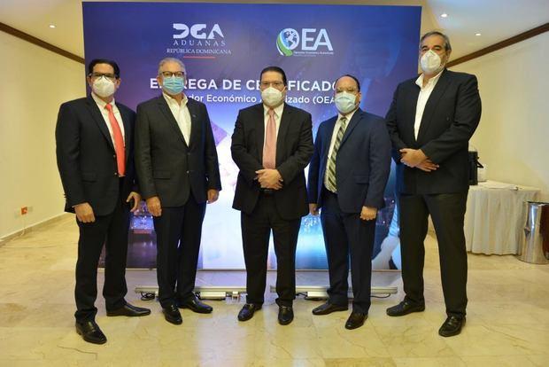 DGA certifica a 20 empresas como Operador Económico Autorizado