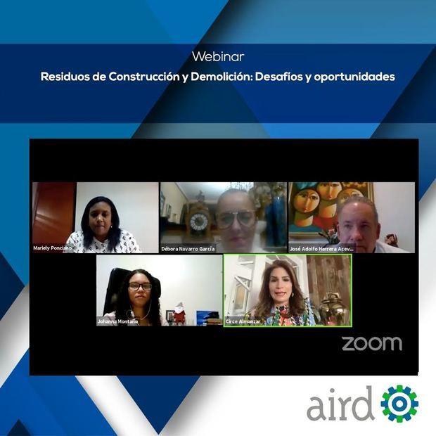 AIRD presenta estudios indican el potencial del sector de la construcción para avanzar a procesos de economía circular.