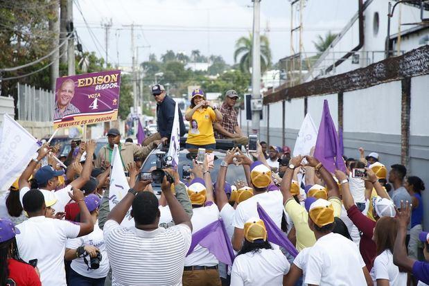Miles de puertoplateños reciben a Margarita Cedeño y apoyan candidatos del PLD