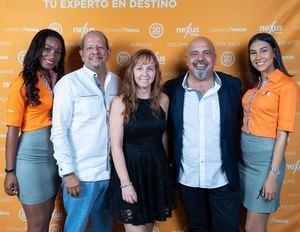 Yoana Medina, Ernesto Veloz, Isabelle WalgebackIsabelle, José Aparicio, Melisa Hofen.