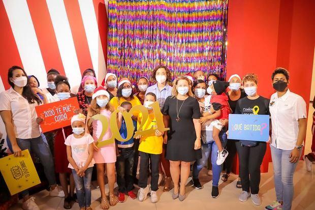 Aliss se solidariza con los niños de la FACCI en actividad navideña