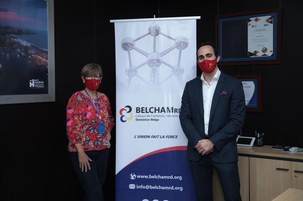 Empresarios presentan en un encuentro Cámara de Comercio Dominico-Belga