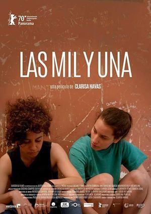 Afiche película 'Las mil y una'.