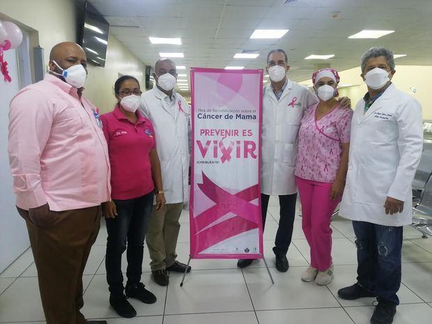 Moscoso Puello cierra mes lucha cáncer con operativo preventivo