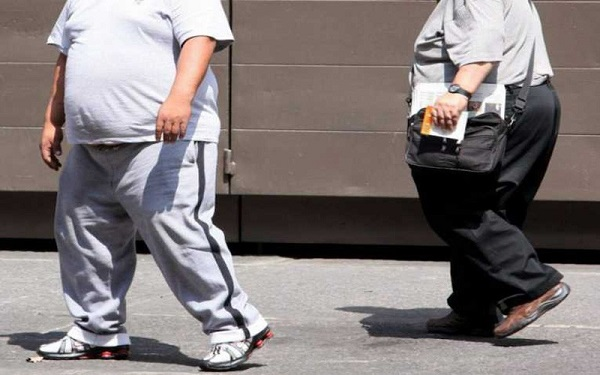 Crecimiento de la obesidad en personas