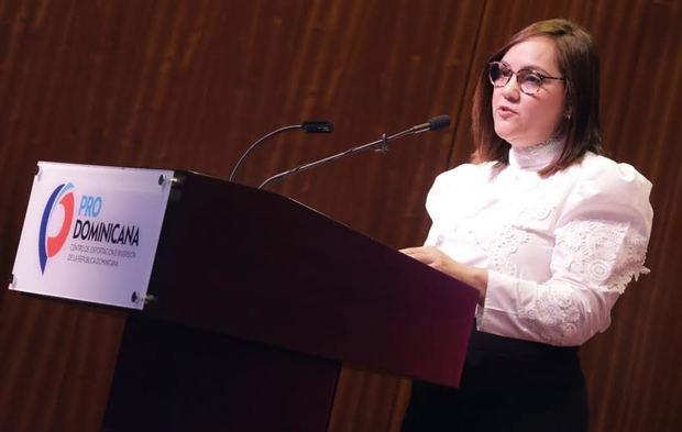 Presidenta de ADOEXPO sugiere medidas para mejorar clima de negocios