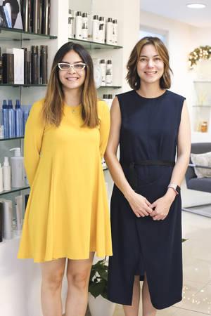 Rosario Castillo y Vivian Fuji.