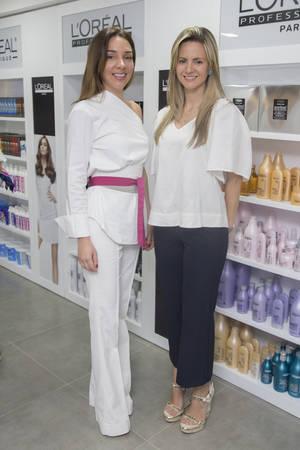 Alinade Frach y Fabiola Prieto.