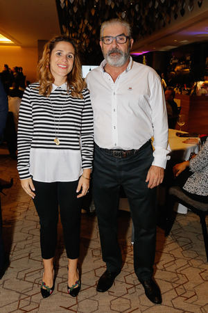Vanessa Gaviria y Ángel Luna