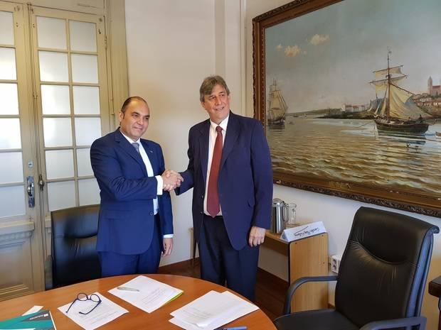 Aduanas RD y de Uruguay buscan fortalecer relaciones institucionales
