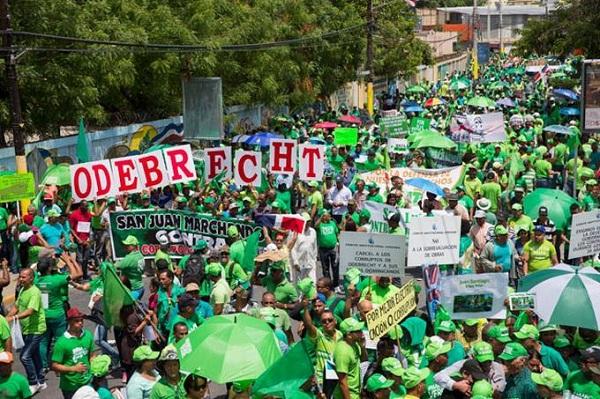"""Marcha Verde cree carácter regional de caso Odebrecht es """"una gran ventaja"""""""