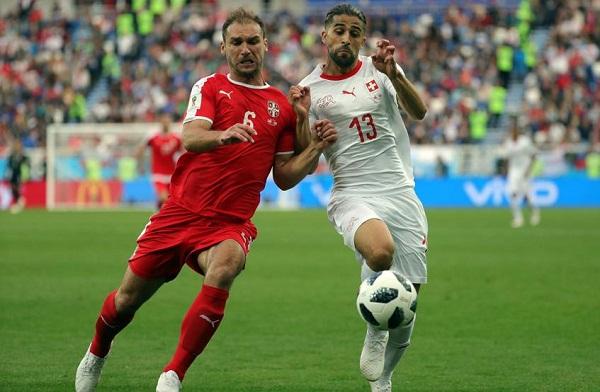 Suiza 2, Serbia 1 en el último juego de la novena jornada