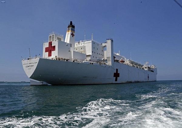Miles de ecuatorianos fueron atendidos en buque hospital de Estados Unidos