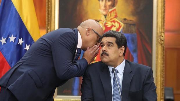 AEl presidente de Venezuela, Nicolás Maduro, durante una rueda de prensa hoy en Caracas.