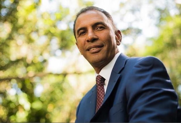 Candidato a la Alcaldía del Distrito Nacional por el PLD, Domingo Contreras.