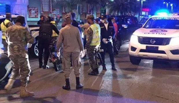 Detenidas 2,776 personas por violar el toque de queda en Fin de Año