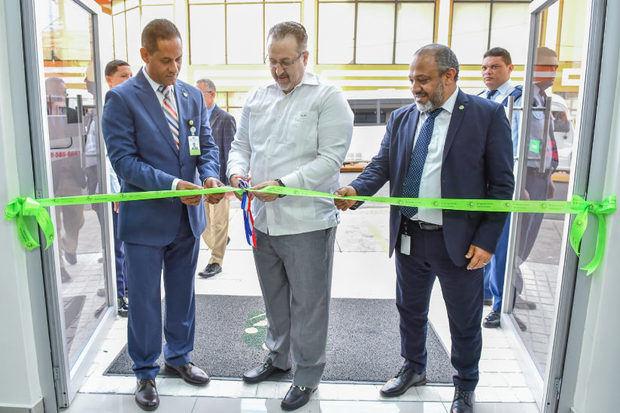 Impuestos Internos inaugura nuevas oficinas en Puerto Plata.