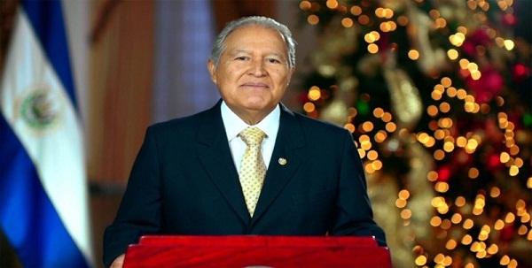 El presidente de El Salvador llega a Guatemala para la reunión con Mike Pence