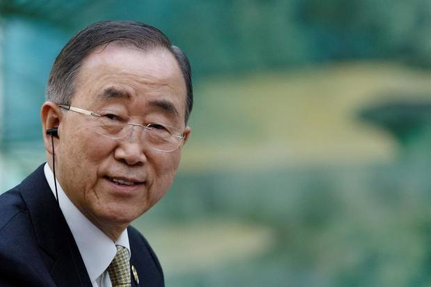 Ban Ki-moon pide espacio y medios para los jóvenes contra el cambio climático