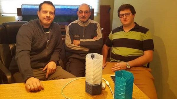 Crean un velador que detecta monóxido de carbono