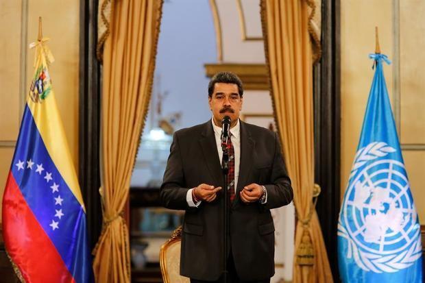 Maduro busca crear con la ONU un fondo de 300 millones de dólares para vacunas