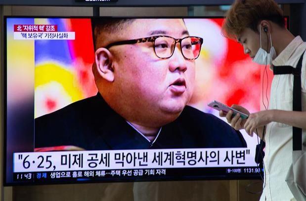 Kim Jong-un preside una reunión de emergencia ante la llegada del tifón Bavi