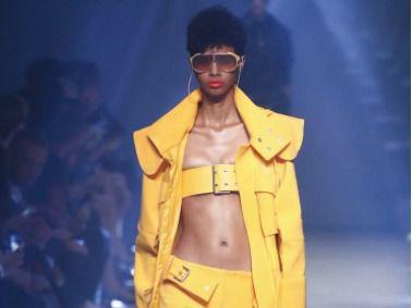 Richie Beras, una modelo dominicana que debuta con la firma Versace